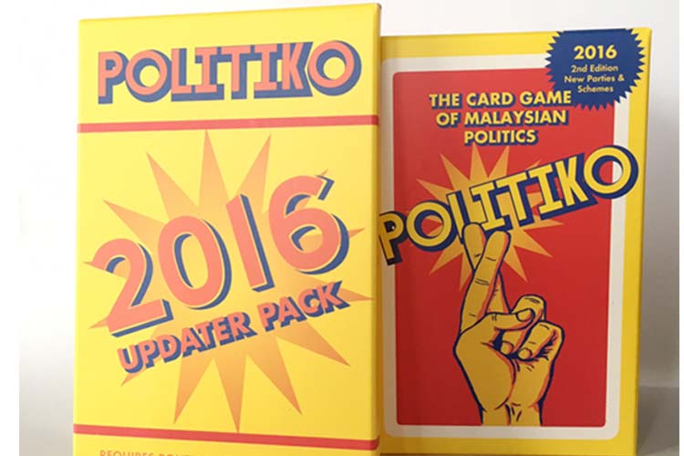 POLITIKO: The Card Game of Malaysian Politics (2nd Edition)