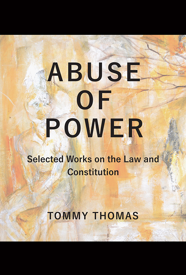 Abuse of Power (Hard Cover)