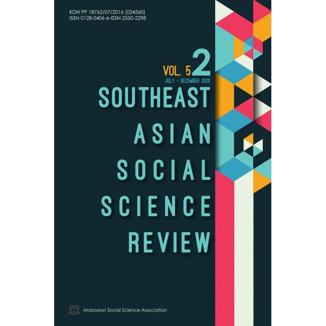 Southeast Asian Social Science Review VOL 5 NO 2 JULY - DECEMBER 2020
