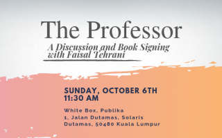 The Professor: A Discussion and Book Signing with Faisal Tehrani