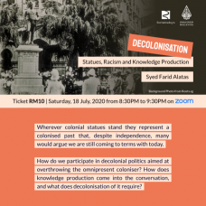 Decolonisation: Statues, Racism and Knowledge Production | Webinar