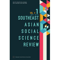 Southeast Asian Social Science Review Vol 4 No 1 January - June 2019