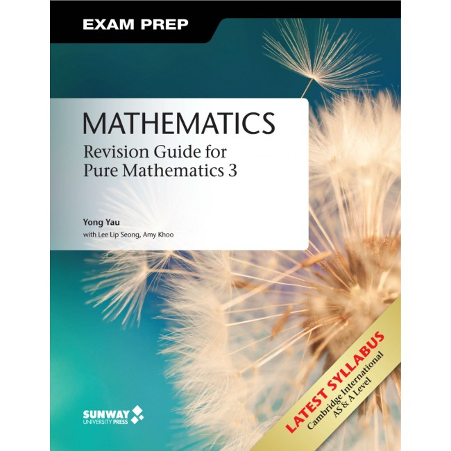 Cambridge International AS & A Level Mathematics: Revision Guide for Pure Mathematics 3