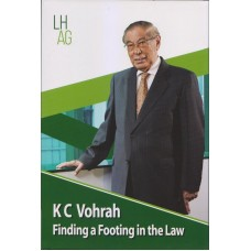 Finding a Footing In The Law by K C Vohrah