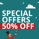 Special 50% OFF